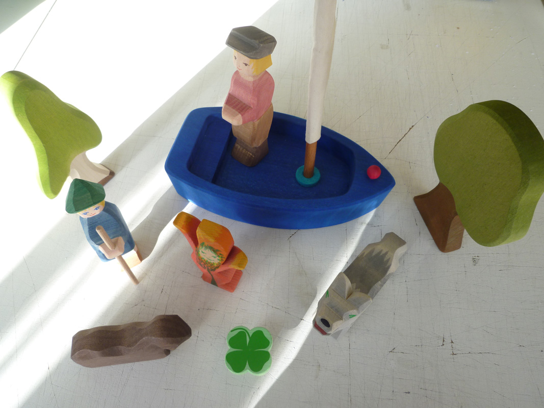 Spielfiguren Multi-Touch-Table